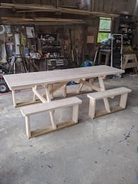 "Picnic Table 8' ""Easy In"" ""New"" Fully assembled"