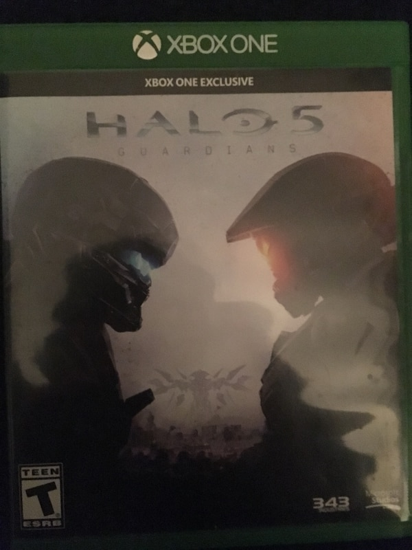 Xbox One Halo 5 game case