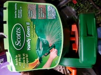 green and white plastic container Springfield, N0L 2J0