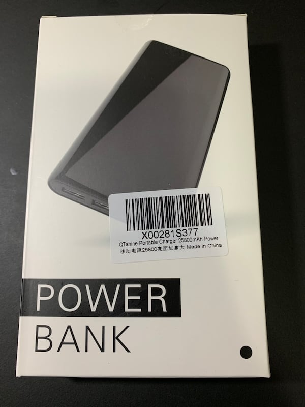 QTshine 25800 mAh Power Bank 1