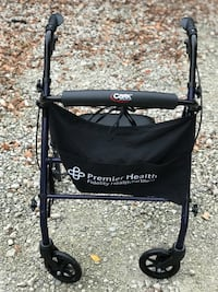 Black and gray rollator walker Liberty Township, 45044