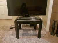 Side TV with glass top 1164 mi