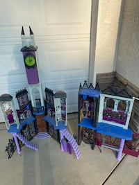 Monster High toy house