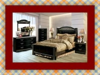 11pc Ashley bedroom set free delivery Prince George's County