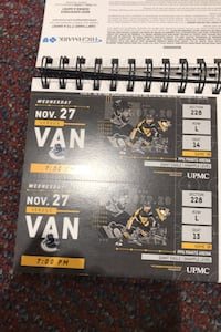 2 Pens tickets 11/27 thanksgiving eve $150 total