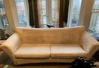 brown leather 2-seat sofa Normandy Park, 98166