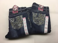 BNWT 2 pairs of Girls Size 14 Skinny Jeans $30