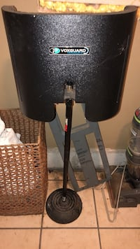 This is an audio visual equipment that can do voice over for videos. If you want to be a professional, you need this item. It comes with a mic. I may be able to furnish you with a cable as well   James Island, 29412