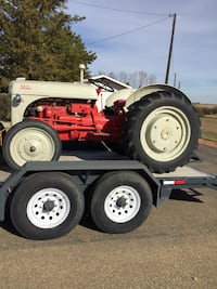 Restored Ford Tractor Camrose