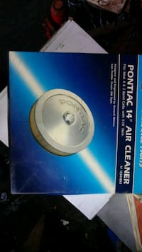 14in. Pontiac air cleaner