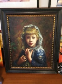 """The Perfect Portrait"" Original Painting , simply stunning! Portland, 97209"