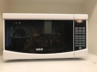 black and gray Emerson microwave oven Coquitlam, V3B