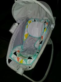 baby's gray and white bouncer Merced, 95348