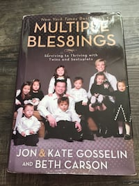 Multiple Bles8ings by Jon & Kate Gosselin and Beth Carson book