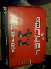 Red lithium 18 volt impact and hammer drill Surrey, V3T 2X3