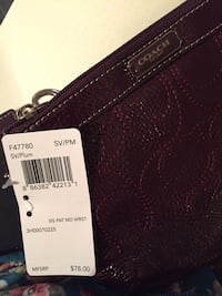 Coach Purse with tags. Price tag shown in picture. Middletown, 21769