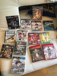 assorted Sony PS3 game cases Montréal, H2J 3N1