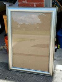 Big silver picture frame