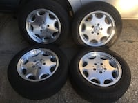 4 Mercedes rims w/tires very nice Kissimmee, 34759