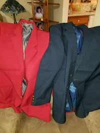 red and black formal suit jacket Virginia Beach, 23454