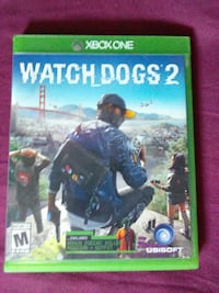 Xbox One Watch Dogs 2 case Akron