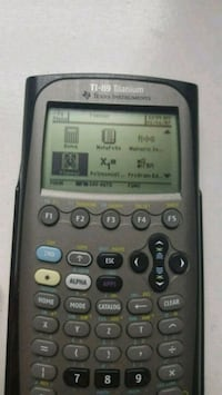 TI-89 Programmable Graphing Calculator