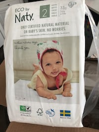 Eco by Naty Diapers Size 2 Calgary, T3M