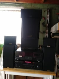 black Sony home theater system Baltimore, 21230