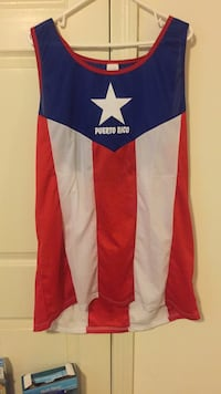 Puerto Rico tank top 100% Polyester sz-2xl to 3xl Worcester, 01606