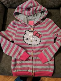 Kids hello Kitty size 6 zip up hoodie Front Royal, 22630