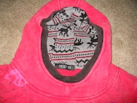 Fashion Women's Casual Red Tops Pullover Hooded Sweatshirt  Toronto