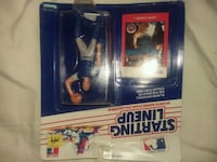 Starting Lineup baseball player action figure in pack Apex, 27502