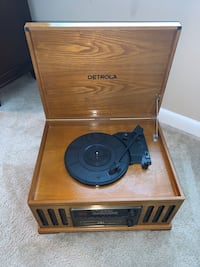 Never Before Used Detrola Record Player for sale!!!!