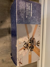"Brand new 52"" ceiling fan with light kit  Oxon Hill, 20745"