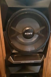 Car or truck  speakers there  black sony in store new 500