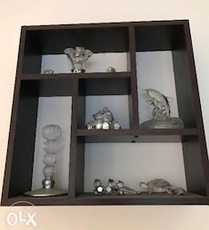assorted glass decors