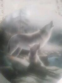 Howling lessons collectors plate Temple Hills, 20748
