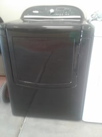Gloss Black Whirlpool Cabrio Electric Dryer with Steam Setting Phoenix