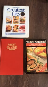 3 Weight Watcher recipe books — all for $10  Toronto, M8V 1A4