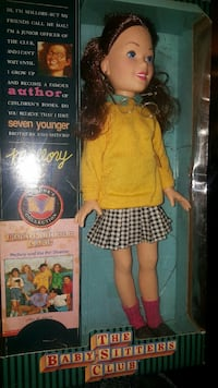 Babysitters club doll still in box
