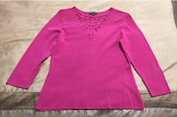 Brand New XL Fuchsia Ladies Top