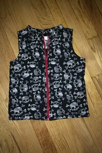 Youth size skull vest