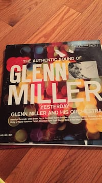 the authentic sounjd of glenn miller vinyl record Fairfax, 22032