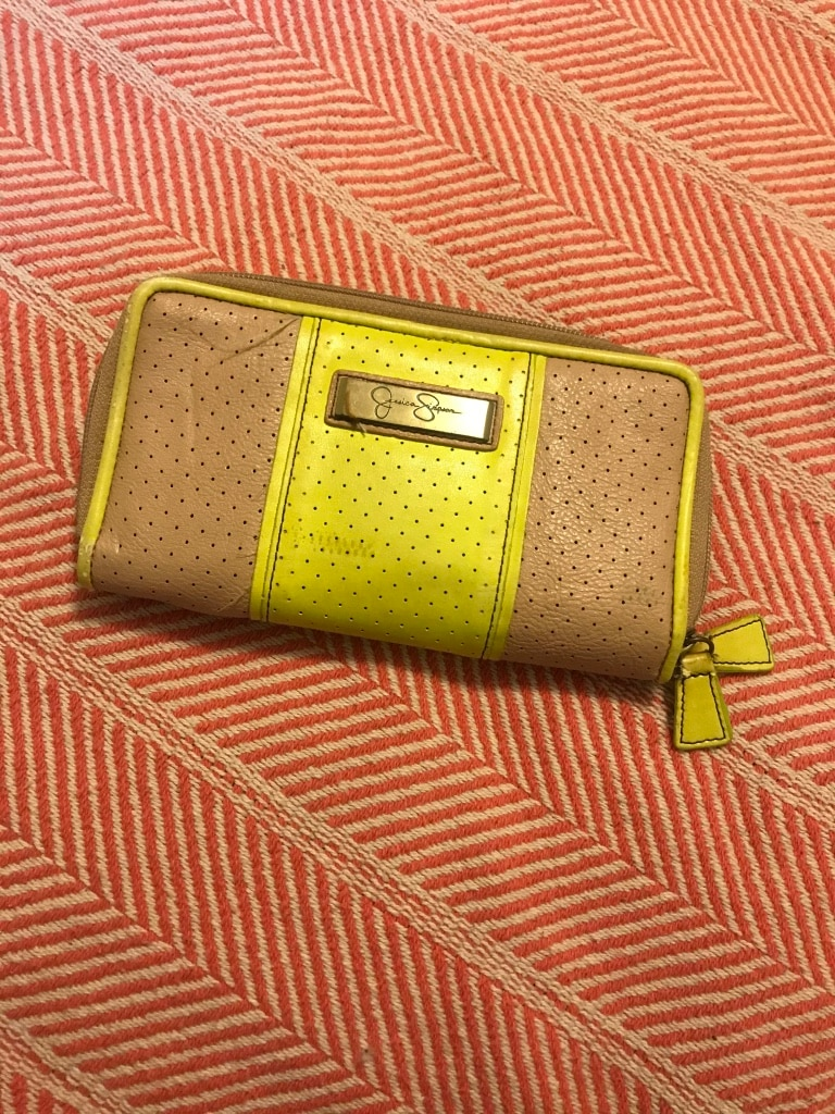 Photo Jessica Simpson Double Zip Wallet