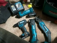 two blue Makita cordless power drills Lodi, 95240