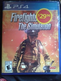 PS4 Firefighter Simulator