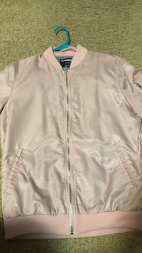 Rue21 Light Pink Bomber Jacket