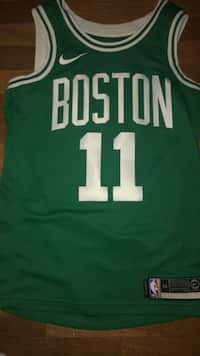 0e12438cf8 Real authentic Kyrie Irving Celtics jersey NBA certified