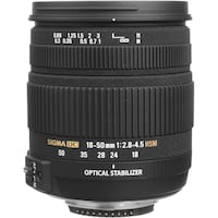 Sigma 18-50mm f/2.8-4.5 DC OS HSM new for Sony A m