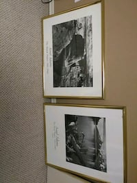 Pair of framed Ansel Adams prints Independence, 64055